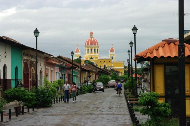 La rue principale de Granda