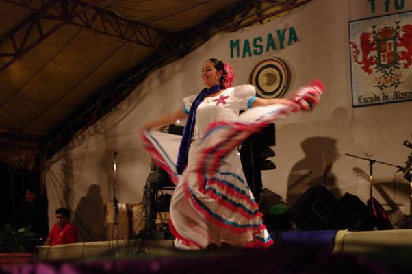 Danse folklorique à Masaya