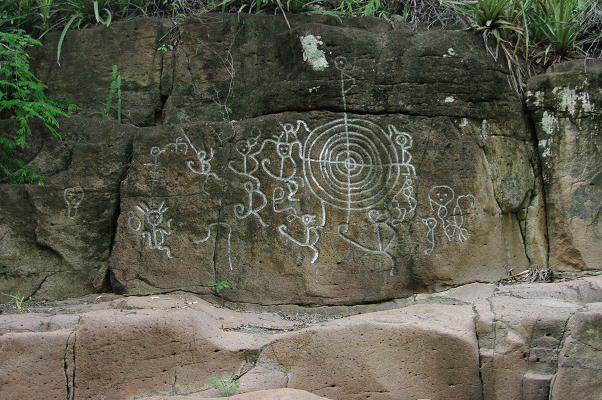 Le pétroglyphe de référence du Musée