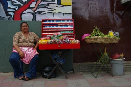 La vendeuse de fruits, à Léon